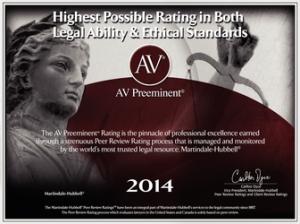 AV Preeminent Law Firm